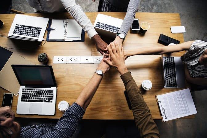 Lavorare in team per raggiungere obiettivi