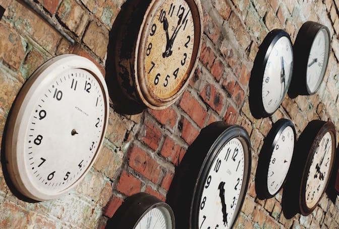 Essere puntuali per rispettare gli orari