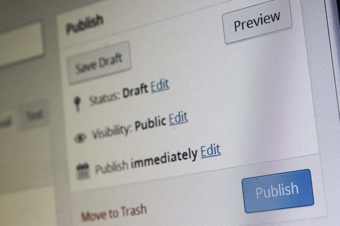 Competenze nella pubblicazione di contenuti