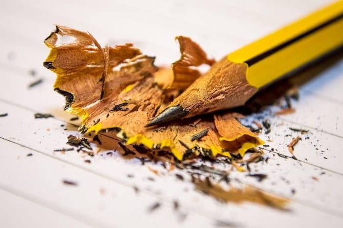 Il quesito professionale della matita