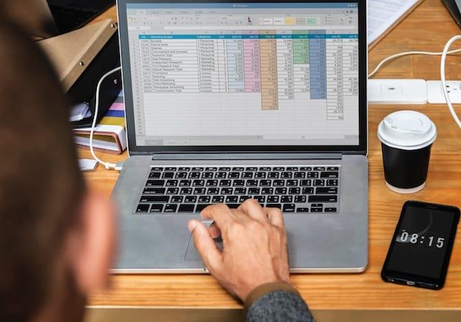 Usare fogli elettronici per elaborare dati